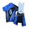2013 Scott Blue Cycling Jersey And Bib Shorts
