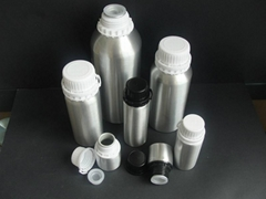 1000ml aluminum metal rose essential oil packing bottle
