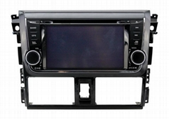 Car DVD with GPS for TOYOTA VIOS 2014