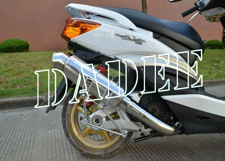 Racing Japanese Style Scooter Stainless Steel Exhaust for