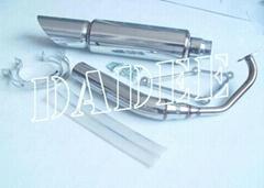 Racing Original Stainless Steel Muffler for MF08/Forza 250