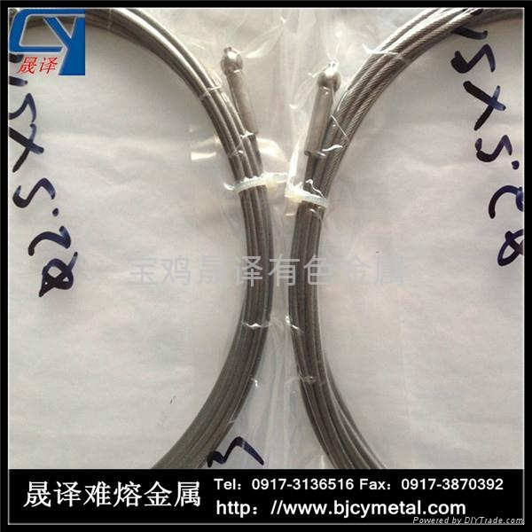 Tungsten wire rope 1