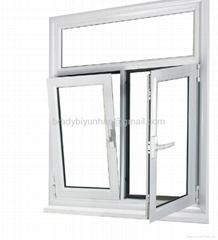 China Qingdao high quality pvc window