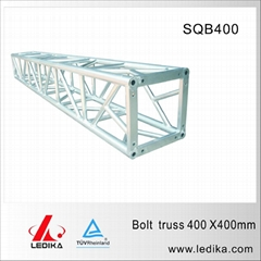 Aluminum square truss for performance