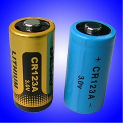 3.0V Primary Cylindrical LiMnO2 Battery for Smoke Detectors