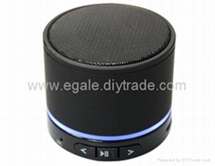 Mini Wireless Bluetooth Speaker with LED light for Cell Phone