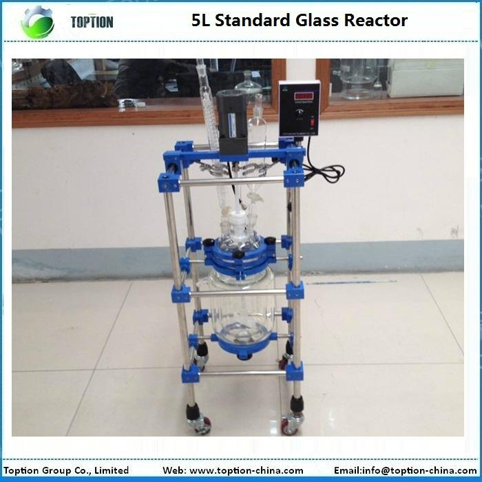 Hot Selling Jacketed Glass Reactor 1