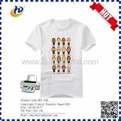 Factory supply dye sublimation light t-shirt transfer paper 140gsm 150gsm