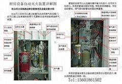 上海廚房滅火自動滅火系統