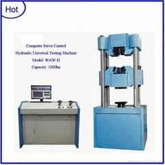 Computer servo control hydraulic universal testing machine