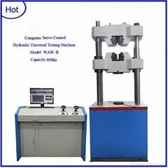 WAW-600B Computer control servo hydraulic universal testing machine