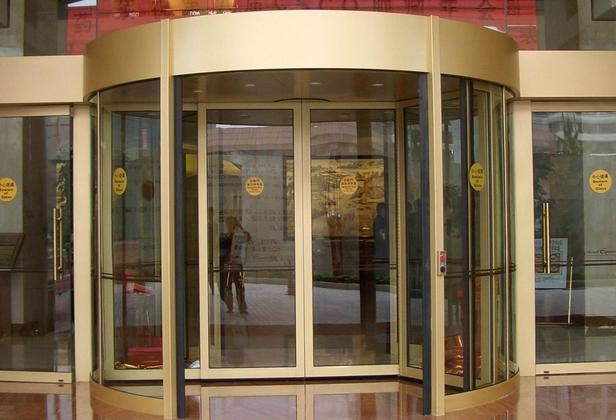 Automatic Revo  ing Door (DS-R2) 2
