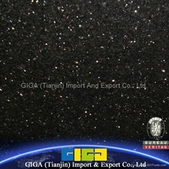 China granite tiles 18mm Black Galaxy granite price in UAE