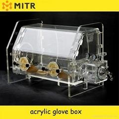 Radiation-proof vacuum glove box ,desk type vacuum glove box