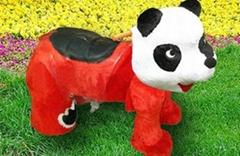 熊猫广场电动玩具车