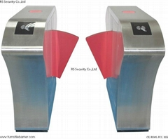 Access Control Pedestrian Gate Flap Turnstile Gate (RS388)