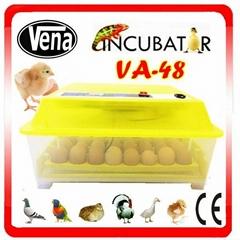VA-48 2014 Top Selling Automatic Mini chicken egg incubator