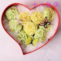 母亲节礼物康乃馨皂花礼盒