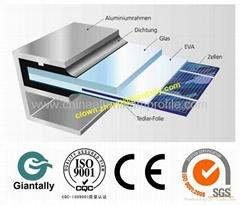 aluminum solar profile