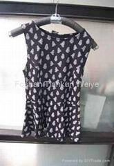 2014 summer hot sale Chiffon lady blouse