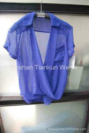 2014 fashion ladies shirts for wholesales 1