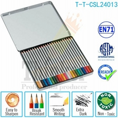 Hot Sale China Supplier Useful Office Wholesale Color Pencils Set In Tin Box