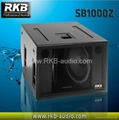1600W powerful subwoofer SB1000Z