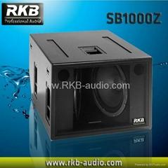 1600W powerful subwoofer SB1000Z