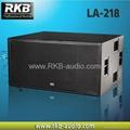 Line array subwoofer LA-218 1