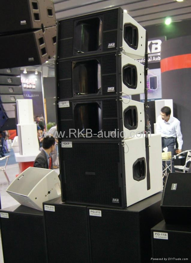 Line array subwoofer speaker Q2 2