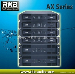 Professional power amplifier AX series