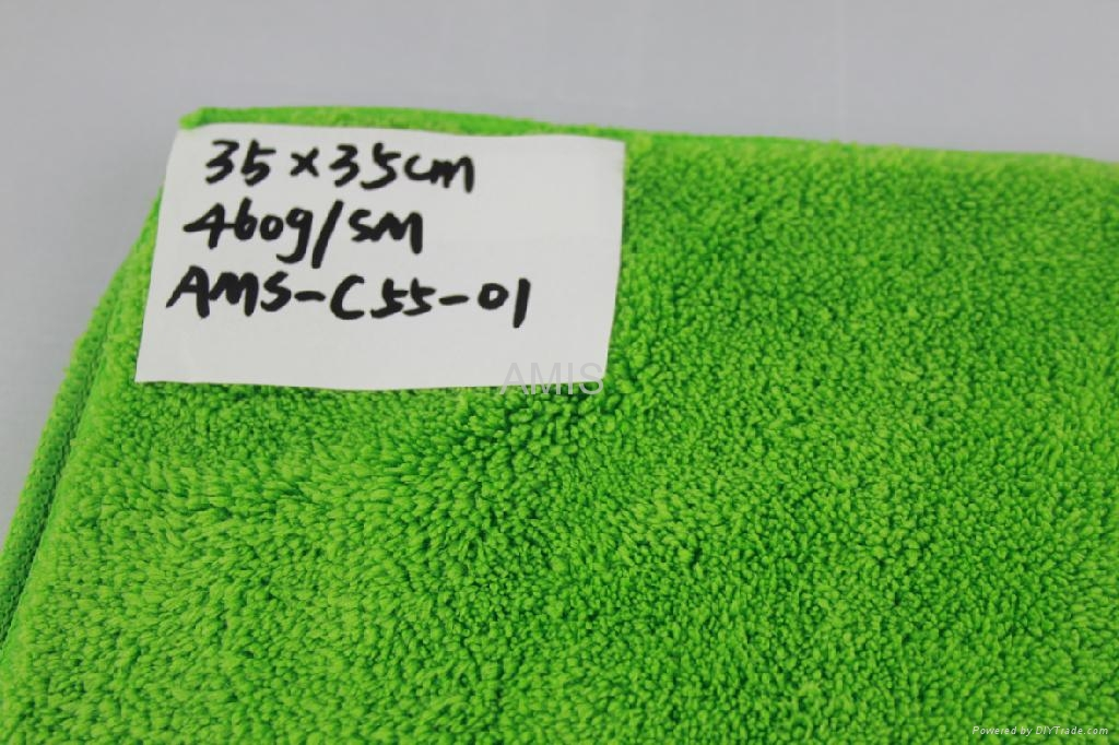 Microfiber cleaning cloth for car 2