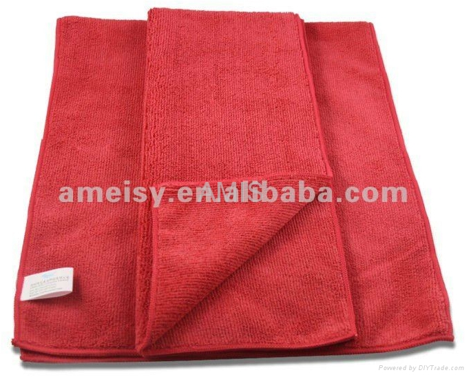 high quality microfiber cleaning cloth towel 3