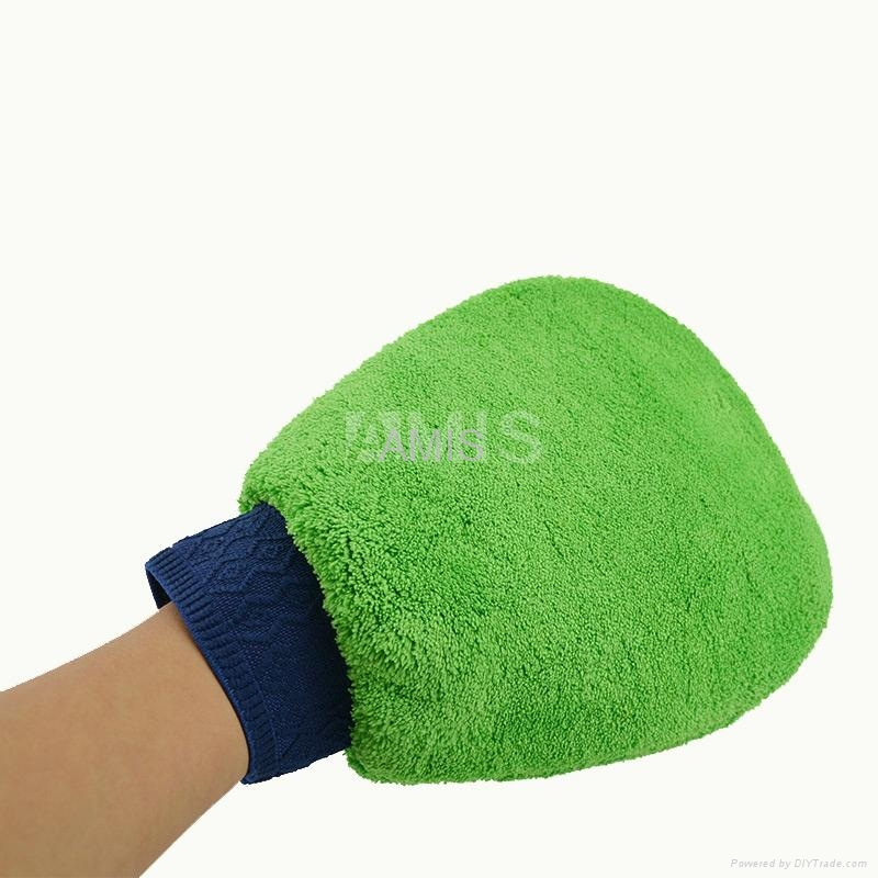 terry mitt car cleaning gloves 3