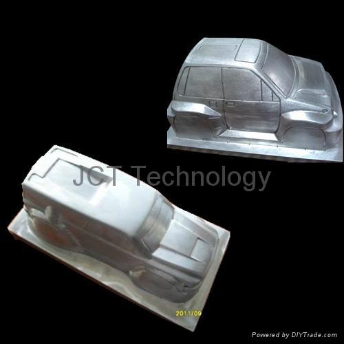 Aluminum Car Model Molding 2