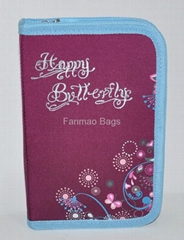 Happy Butterfly Pencil Bags