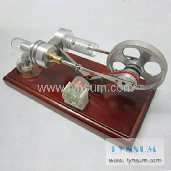 P02007 Stirling Engine Model with Generator and LED Light (China