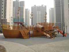 木製海盜船系列