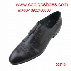 2014 fashionable dress men shoes to wear with jeans