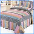 soft wool quilt+ 100% cotton patchwork