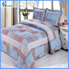 Newest Queen Size Cotton Patchwork Quilt