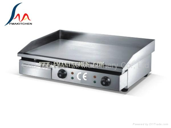 6-burner gas range with electric oven 3