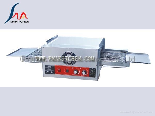 Electric conveyor pizza oven 1