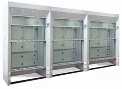 walk-in carpboard fume hood
