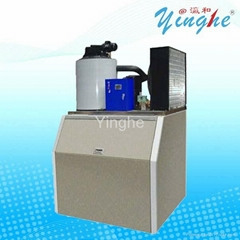 Commercial automatic Flake Ice Maker Machine produce 0.5~60tons Flake Ice