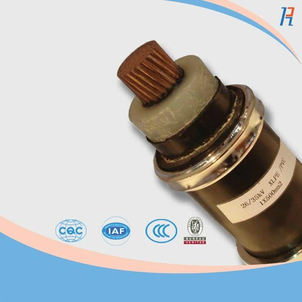 High Voltage Cable Connection Insulator : Xlpe insulated power cable high voltage yjv