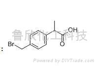 對溴甲基苯丙酸