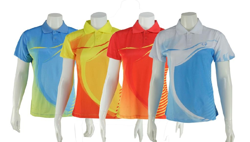 Men Summer New Fashion Polo Shirt For Sublimation Printing