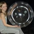 New top sale top quality cheap pvc Clear Transparent Beach Ball 1