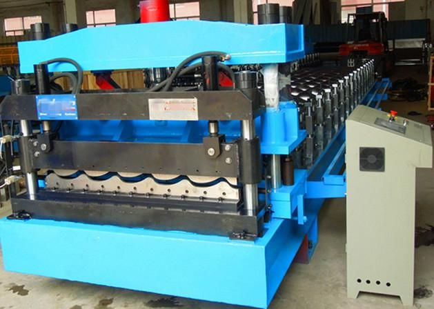 factory colored steel tile roll forming machine 1
